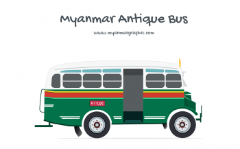 Myanmar Antique Bus