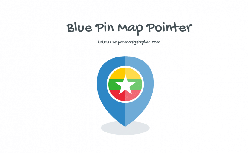 Blue Pin Map Pointer