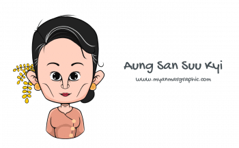 Download Aung San Suu Kyi vector